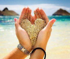 Love is like a grain of sand, thousands and billions feel it daily