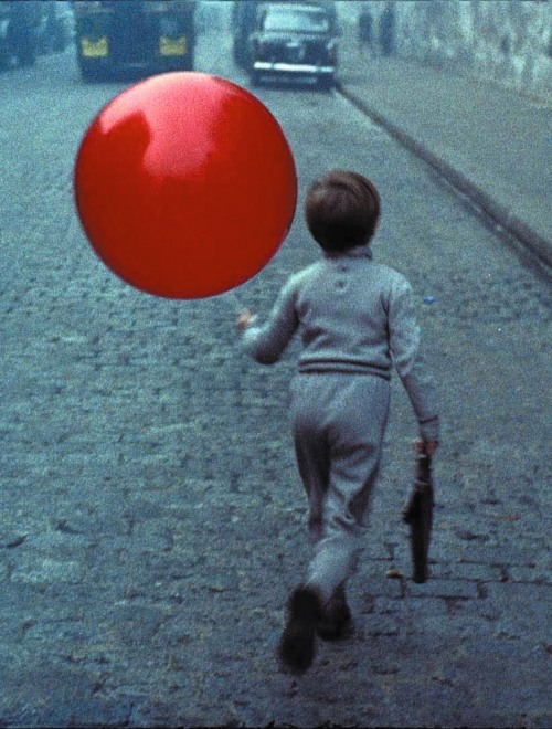 Pascal Lamorisse in The Red Balloon (1956, dir. Albert Lamorisse) (via)