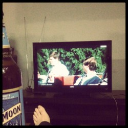 Blue moon and workaholics  (Taken with instagram)