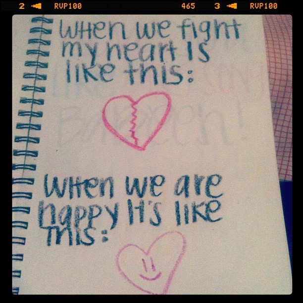 Awww(: (Taken with instagram)