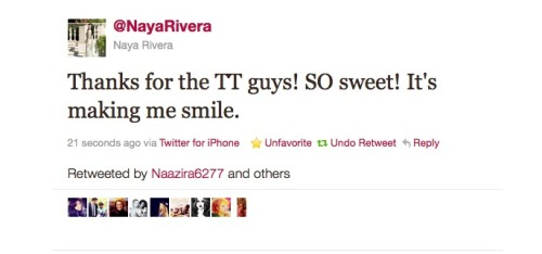WE LOVE YOU! we support naya