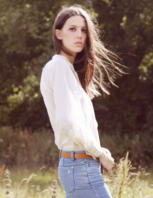 Nature Girl @ fashiongonerogue:  (via Ruby Aldridge for MiH Jeans Spring 2012 Collection)