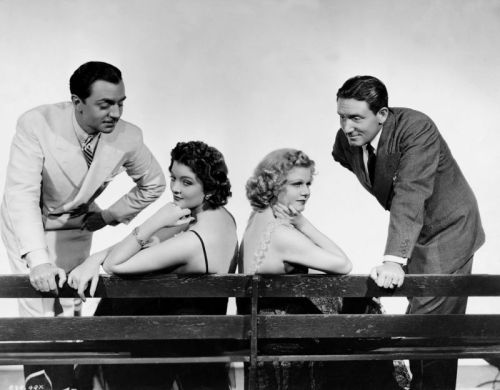 #libeled lady #william powell #Myrna Loy #Spencer Tracy #jean harlow