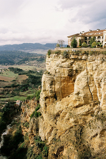 | ♕ |  Ronda Gorge - Andalucia, Spain  | by © a.k.a.manma