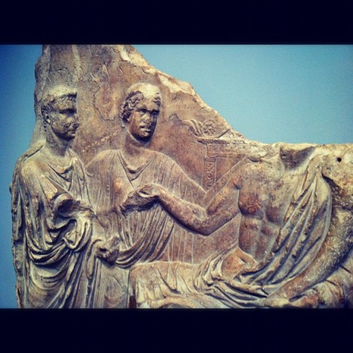 #ruins #greek #greece #exhibit #museum #carving #california #coast #stone #history #ancient #beautiful #talented #art #thegetty #gettyvilla  (Taken with Instagram at The Getty Villa)