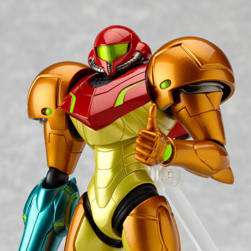 videogamenostalgia:  Figma's Armored Samus - Available for Pre-Order (via: Super Punch)  NICE!