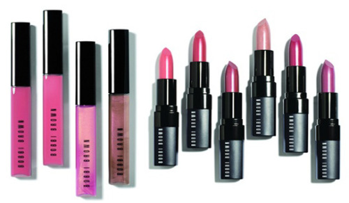 makeupmadness:    Bobbi Brown Spring 2012 : Rose Gold Collection   Rich Lip Color SPF 12 in   Lilac   Wild Rose   Nude Rose   Pink Peony   Beige Gold   Miami Coral   Rich Color Gloss in  Pink Sorbet   Angel Pink   Pink Cocoa   Pink Gold
