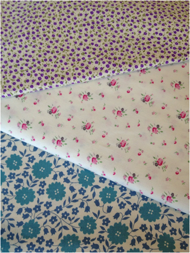 looking forward to my next sewing project with these pretty vintage feel fabrics. i wonder what they will turn into…
