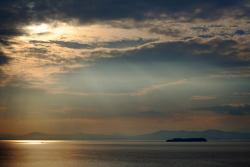 Soft Sunlight on Lake Champlain by jasohill on Flickr.