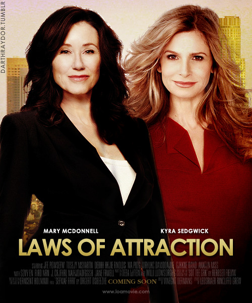 themedparty | challenge #48: movie posters     ▶ laws of attraction