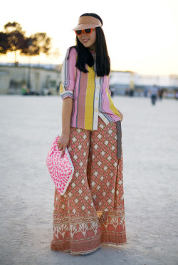 SUSIE BUBBLE: TORY BURCH PALAZZO PANTS