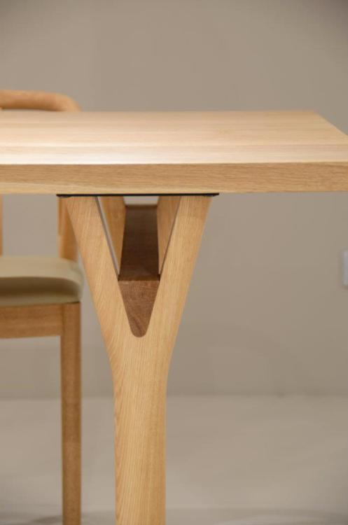 andymurraydesign:  Loveley detail in a simple table leg
