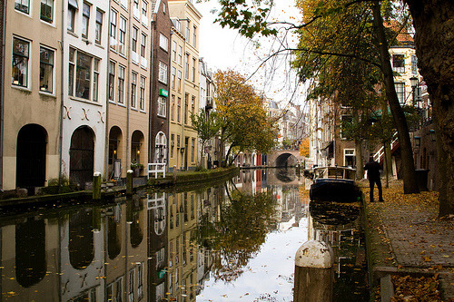allthingseurope:  Canals of Utrecht, Netherlands (by mieke arts)