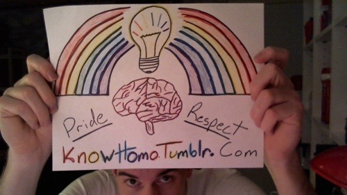 KNOWhomo's first submission/fan art. Thank You, Dakota! You made my day!