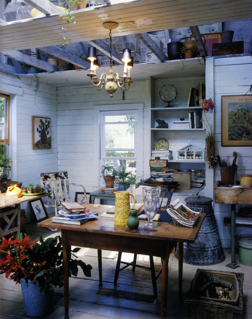 thisivyhouse:  Potting room