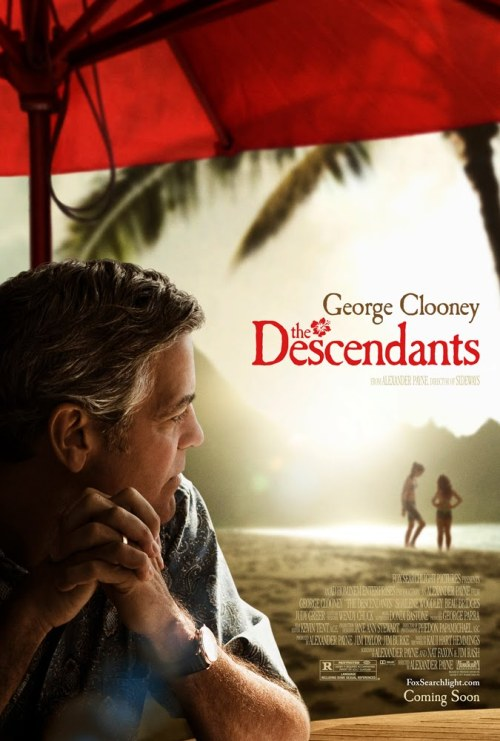#305/#22 The Descendants When his wife is put in a coma after a boating accident, Hawaiian lawyer Matt King (George Clooney) has to look after his two daughters by himself for the first time in years. When it looks like his wife won't be coming out of the coma he has to break it to the girls only to find out from his eldest (Shailene Woodley) that his wife was having an affair. Will he be able to handle this new development on top of his ailing wife and a major decision he's handling that could alter the Hawaiian landscape forever, or will it all prove to much to cope with? Clooney almost always brings his A game whenever he's in anything but this performance is by far his best yet. He's totally believable as the guy just trying to keep his head above water as his world crashes around him. Shailene Woodley is also in top form as his daughter. I thought she performed well enough that there might have been a best supporting oscar nod coming her way but this turned out not to be the case. If Jennifer Lawrence was the one to watch last year, then Woodley is this years new kid on the block. The rest of the cast, although largely secondary characters, hold their own as well. Even Matthew Lillard seems to have learned to act for this one. It's also such a visually pretty film. I'm sure a lot of that has to do with Hawaii in general being a beautiful place but it was portrayed wonderfully throughout this film. It's also got a lovely soundtrack on top of this, which gels with the whole tone of the piece incredibly. The story could have been really cliche, i.e. distant father learns to love his daughters when wife is dying, and while to an extent this is what happens, it's the way in which it goes about doing it that makes it so good. People are angry in this films, they're sad, they're happy, etc. They react with more than one emotion at a time and it makes the whole thing feel more real because of it. Genuinely emulating real emotions is one of the hardest things to do right but this film just nails it. It's just a wonderful film. Visually beautiful wrapped around some  fantastic performances playing out a thoroughly engrossing story. It's a  top tier film if ever there was one. 5/5