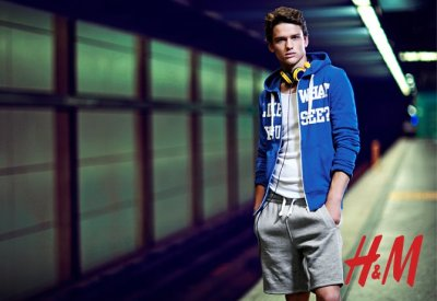 (via Costin M.: I Am Awesome | Simon Nessman for H&M Urban Scene)