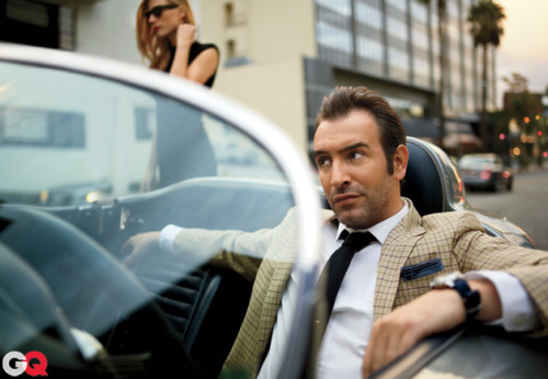 Oscar Nominee Jean Dujardin Looks Good in a Plaid Suit, Don't You Think? Meet the winner of GQ's unofficial award for best actor. In our humble opinion, The Artist's Jean Dujardin gave the most unforgettable performance of 2011—and now he's got a real Oscar nomination to prove it. Thanks to him, silent films are back. And look—so are plaid suits, which the French actor masters like a real matinee idol. See all the looks here. Photograph by Carter Smith