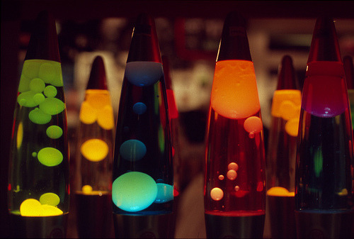 Lava Lamps were invented and first manufactured in Chicago in 1963
