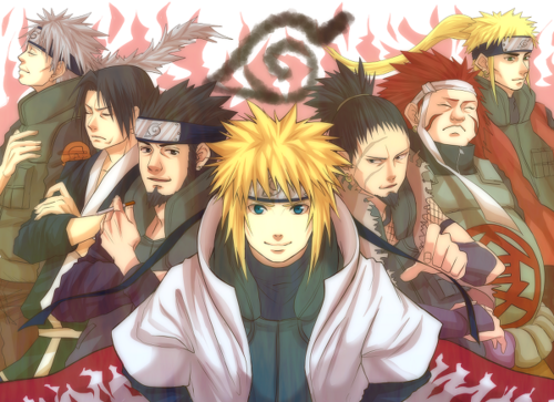 lions-tigers-and-zombies:  Fathers Of The Hidden Leaf Village