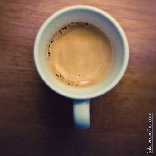 Coffee at Six (by ill-tempered [Jakov Cordina]) It's now Seven, coffee down and I feel refreshed…