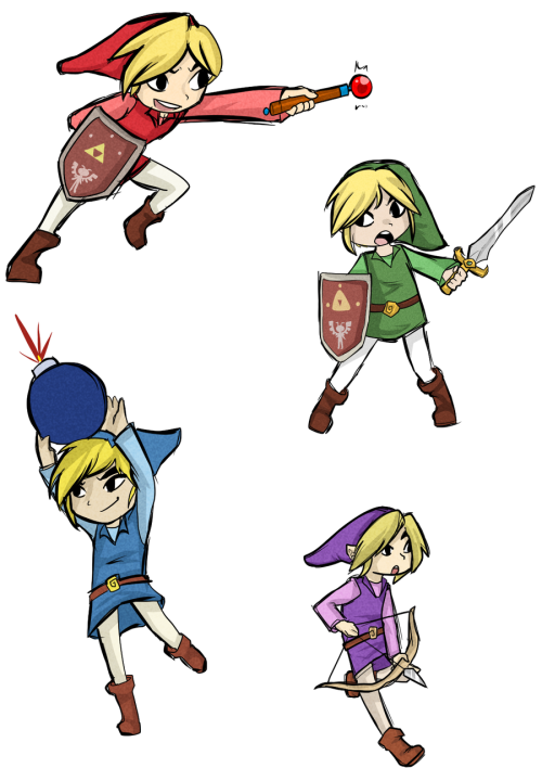 Four Swords Stickers