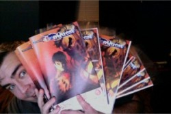 Can you feel the excitement? I can, cause issue 2 of Conquest is now available for digital download for only $1 (via We are live! Issue #2 of Conquest by Immortal…)
