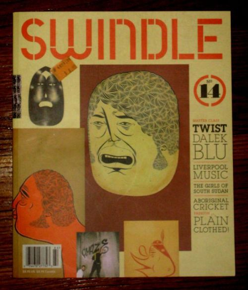 Barry McGee AKA Twist on the cover of Swindle Magazine! We hope you've enjoyed our artist of the week, now on to the next one!