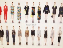 Marc Jacobs RE12 look board