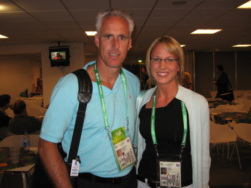 Chance meeting with Mick McCarthy