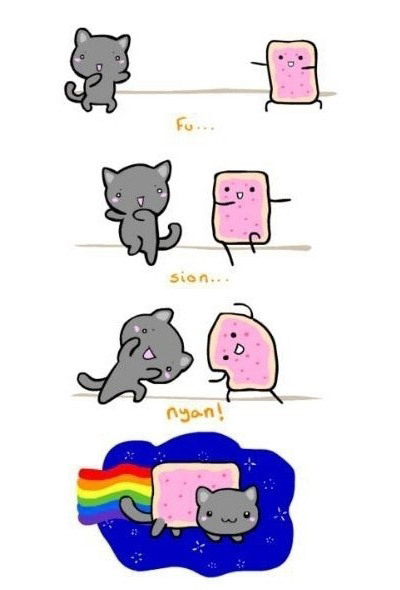 How to: Nyan Cat. Fuuuuu … Sion … NYAAAN!!!