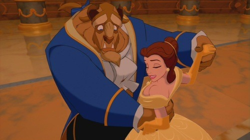 "gofuckingnuts:  Belle and The Beast in ""Beauty and the Beast"" - Disney Couples Image (25378795) - Fanpop on We Heart It. http://weheartit.com/entry/21724095"