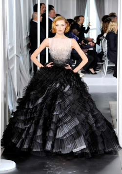 vogue:  Christian Dior Spring 2012 Couture Photo: Yannis Vlamos/GoRunway.comVisit Vogue.com for the full collection and review.