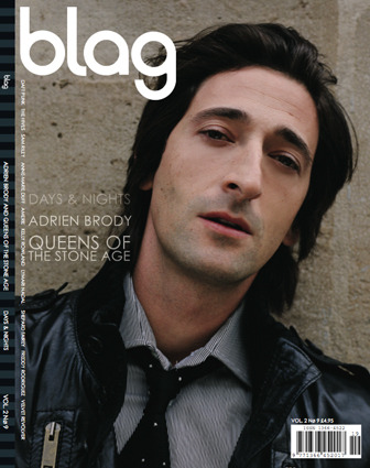 2007 | BLAG Vol.2 Nø 9 Adrien Brody cover Photography by Sarah