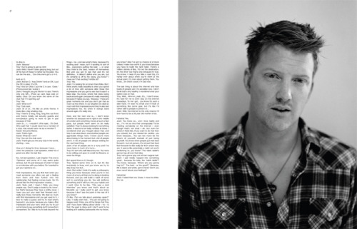 2007 | BLAG Vol.2 No 9 Queens of the Stone Age cover feature Interview by Sally Photography by Sarah