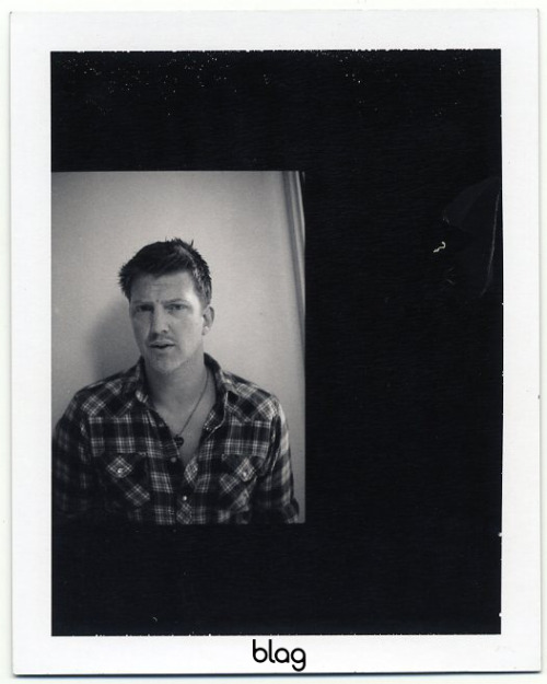 2007 | BLAG Vol.2 Nø 9 Queens of the Stone Age cover shoot polaroids Photography by Sarah Set-ups with Sally