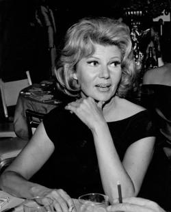 Rita Hayworth at the 36th Annual Academy Awards Gala, 1964