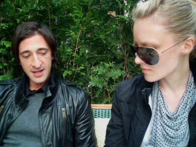 2007 | BLAG Vol.2 Nø 9 Sally interviewing Adrien Brody in Paris Photography by Sarah