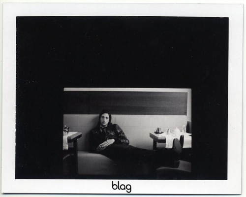 2007 | BLAG Vol.2 Nø 9 Adrien Brody cover shoot in Paris polaroids Photography by Sarah Set-up with Sally