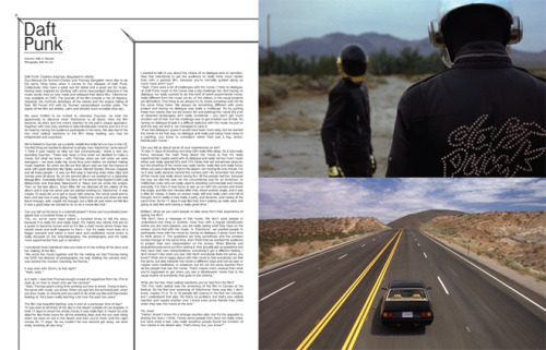 2007 | BLAG Vol.2 Nø 9 Daft Punk Interview by Sally Photography by Daft Arts Ltd