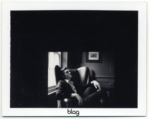 2007 | BLAG Vol.2 No 9 Sam Riley shoot polaroids Photography by Sarah