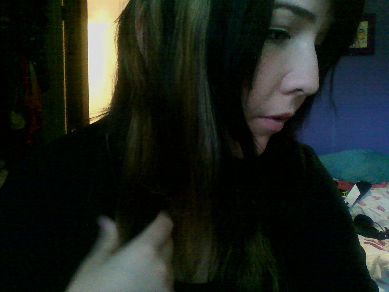 I want moar blonde :( /cry It's raining a lot again today, constantly.