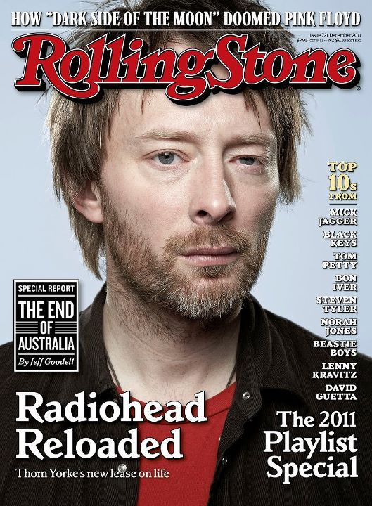 DECEMBER 2011 OZ ISSUE OF ROLLING STONE