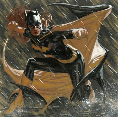 Batgirl by Ryan Sook  This is gorgeous. Wasn't Gail Simone asking about new cover artists for Batgirl? I vote Ryan Sook.