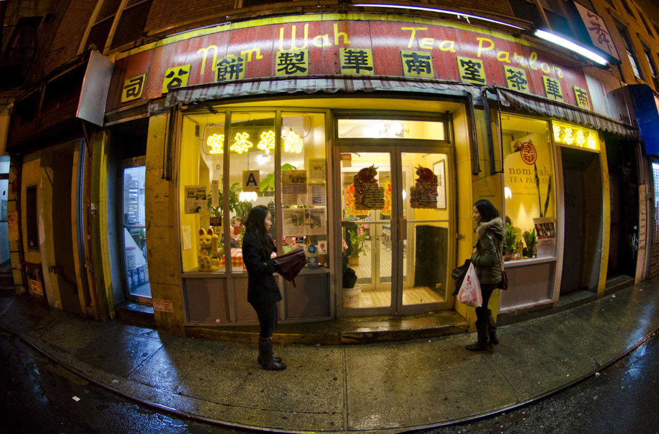 Nom Wah Tea Parlor Chinatown | MANHATTAN © CHRIS HYUN CHOI