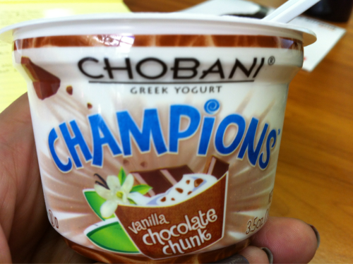 Check out the new flavor! Yum!
