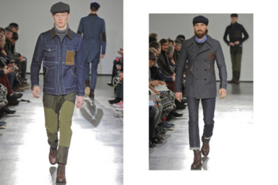 Junya Watanabe COMME des GARCONS MAN 2012 Fall/Winter Collection Presenting yet another strong lineup of countryside-inspired clothing for Fall/Winter 2012 is Junya Watanabe for COMME des GARCONS MAN. The forthcoming collection is another testament to Watanabe's ability to rework a variety of classic styles and workwear pieces with his chic and contemporary commonsense. Seemingly building on the success of last season, Watanabe shows progression with a more matured aesthetic and tasteful color preference via a range of suit jackets, functional parkas, double-breasted coats, denim jackets and work pants. Attention to detail was paid with the inclusion of embroidered patches, chromatic tartans, and contrast stitching.
