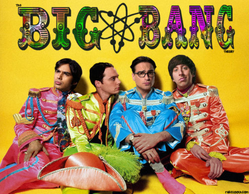 Sgt Pepper's Big Bang Theory