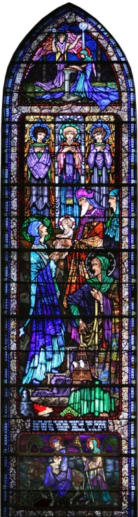thuja:  Harry Clarke stained glass of Killaloe Church