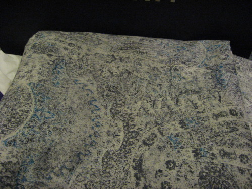 Got this distressed paisley print from Liberty the other day. Now to plan the shirt…